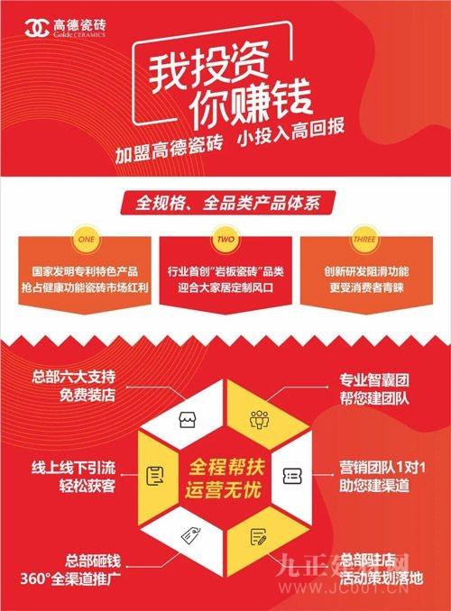 高德瓷磚全國100城財產合資人甄選峰會火熱來襲!